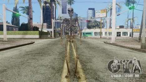 Skeleton Skin v2 para GTA San Andreas segunda tela