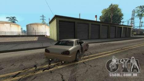 Melhoria física de condução para GTA San Andreas sexta tela