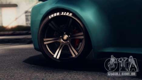 GTA 5 Enus Windsor para GTA San Andreas vista traseira