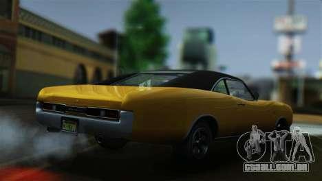 GTA 5 Imponte Dukes para GTA San Andreas traseira esquerda vista