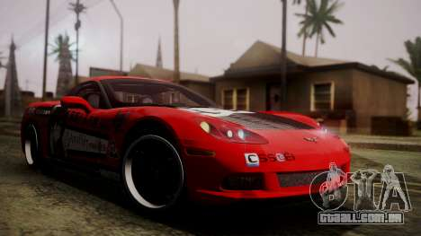 Chevrolet Corvette Z51 Another Itasha para GTA San Andreas