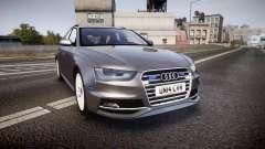 Audi S4 Avant Unmarked Police [ELS]