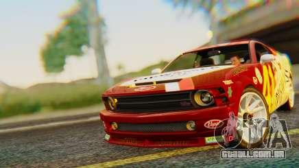 GTA 5 Vapid Dominator Pisswasser SA Lights para GTA San Andreas