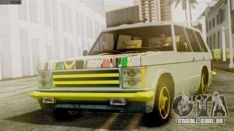 Huntley New Edition para GTA San Andreas