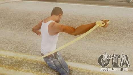 Red Dead Redemption Katana Assasin para GTA San Andreas terceira tela