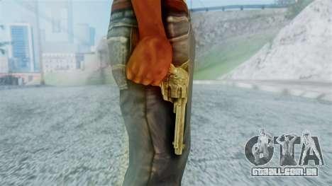 Red Dead Redemption Revolver Cattleman Diego v2 para GTA San Andreas terceira tela