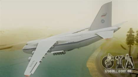 Antonov 124 para GTA San Andreas esquerda vista