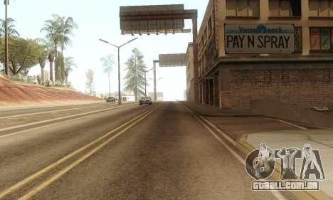 ENB & Colormod v 1.0 para GTA San Andreas terceira tela