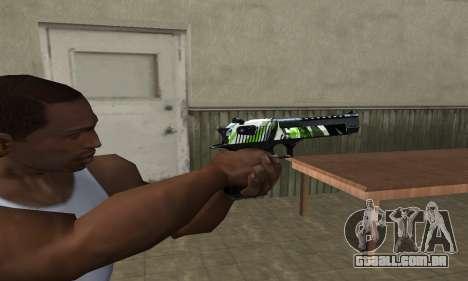 Ben Ten Deagle para GTA San Andreas segunda tela