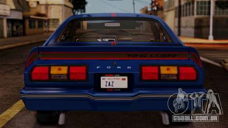 Ford Mustang King Cobra 1978 para GTA San Andreas