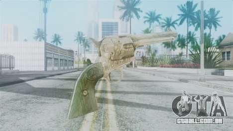 Red Dead Redemption Revolver Sergio para GTA San Andreas segunda tela