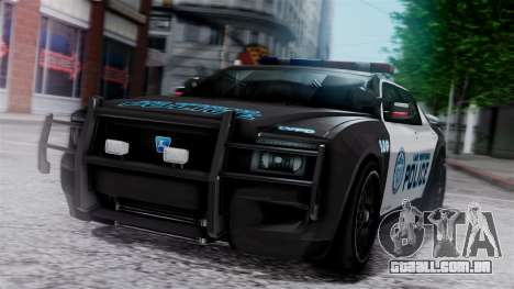 Hunter Citizen Police LV IVF para GTA San Andreas
