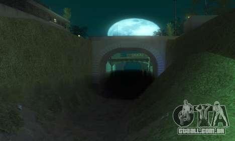 ENB & Colormod v 1.0 para GTA San Andreas quinto tela