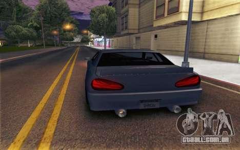 Elegy Explosion v1 para GTA San Andreas esquerda vista