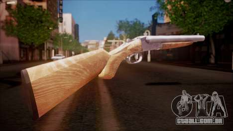 DobleGun from Battlefield Hardline para GTA San Andreas segunda tela