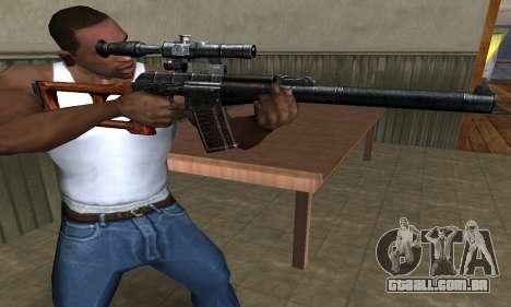 Old Sniper para GTA San Andreas segunda tela