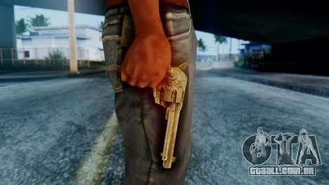 Red Dead Redemption Revolver para GTA San Andreas terceira tela