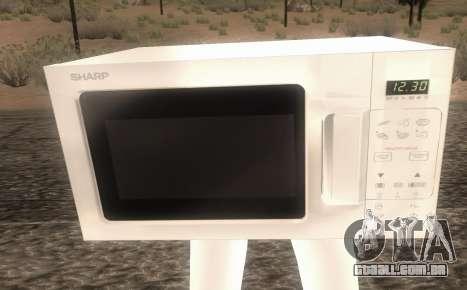 Microwave from Goat MMO para GTA San Andreas segunda tela