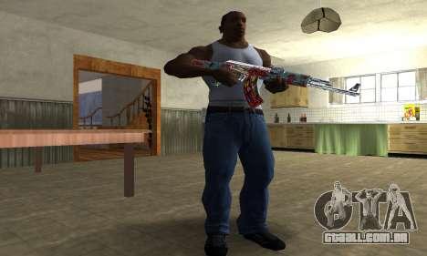 Cool Graf AK-47 para GTA San Andreas terceira tela