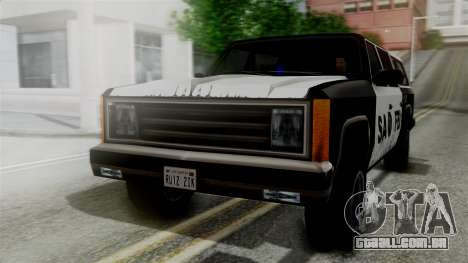 Alternative FBI Rancher para GTA San Andreas
