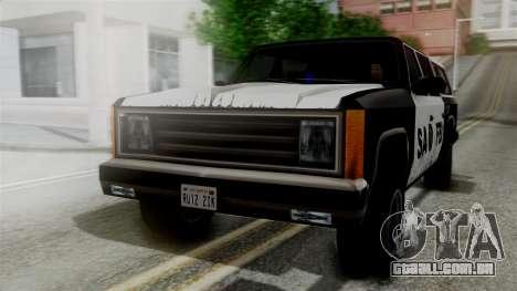 Alternative FBI Rancher para GTA San Andreas