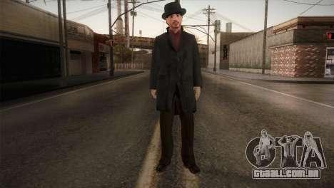 Sherlock Holmes v1 para GTA San Andreas segunda tela