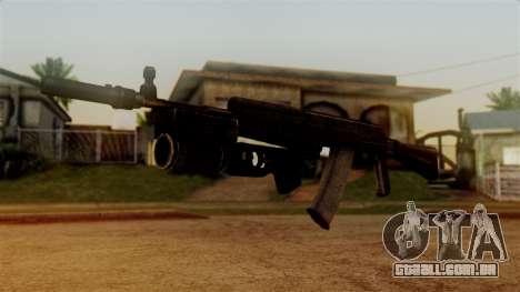 An-94 Abakan para GTA San Andreas segunda tela