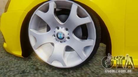 Volkswagen Golf R32 AirQuick para GTA San Andreas traseira esquerda vista