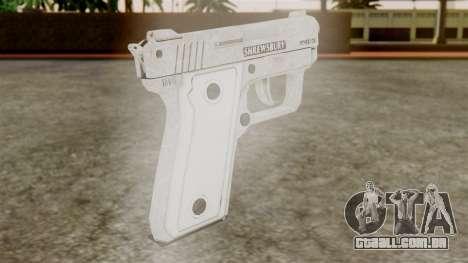 GTA 5 SNS Pistol para GTA San Andreas segunda tela