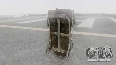 Ghostbuster Rucksack para GTA San Andreas segunda tela