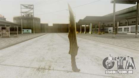 Elven Dagger para GTA San Andreas segunda tela