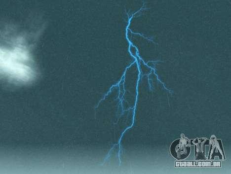 Realista tempestade para GTA San Andreas