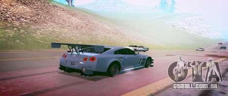 Brandals ENB v2 para GTA San Andreas por diante tela
