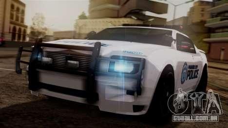 Hunter Citizen from Burnout Paradise v3 para GTA San Andreas