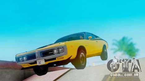 Dodge Charger Super Bee 426 Hemi (WS23) 1971 para GTA San Andreas vista direita