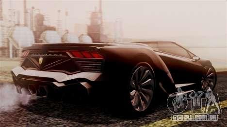 Pegassi Zentorno Cabrio v2 para GTA San Andreas esquerda vista