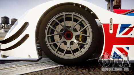 Radical SR8 RX 2011 [28] para GTA 4 vista de volta