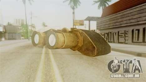 Red Dead Redemption Binocular para GTA San Andreas segunda tela