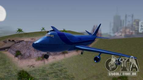 AT-400 Argentina Airlines para GTA San Andreas vista traseira