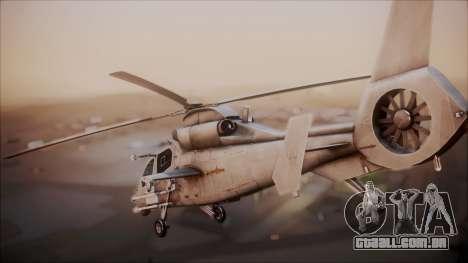 Harbin WZ-19 para GTA San Andreas esquerda vista