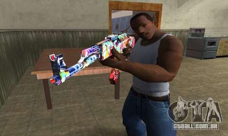 Cool Graf AK-47 para GTA San Andreas segunda tela