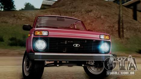 VAZ 2121 Niva Stoke para GTA San Andreas vista direita