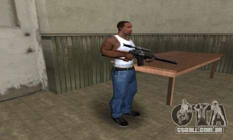Old Sniper para GTA San Andreas terceira tela