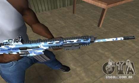 Pixel M4 para GTA San Andreas segunda tela