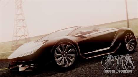 Pegassi Zentorno Cabrio v2 para GTA San Andreas