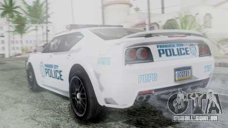 Hunter Citizen v3 IVF para GTA San Andreas esquerda vista