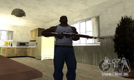 Snake Rifle para GTA San Andreas terceira tela