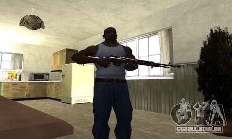 Snake Rifle para GTA San Andreas terceira tela