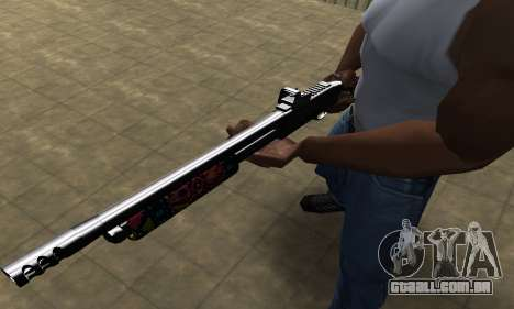 National Shotgun para GTA San Andreas segunda tela