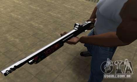 National Shotgun para GTA San Andreas segunda tela